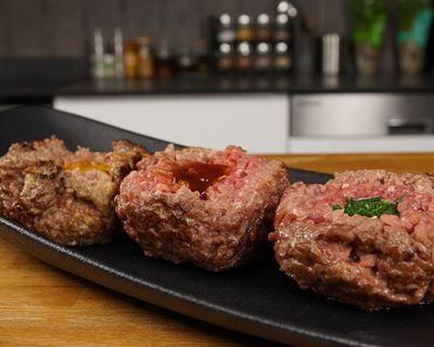 Le trio de steaks hachés de Jacky Ribault
