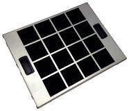 Bosch - Charcoal Filter for Select Bosch Recirculating Range Hoods - Black/Silver