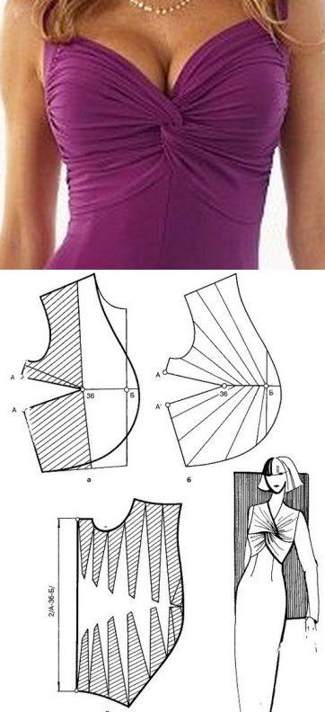 И снова моделирование! Сегодня рассмотрим моделирование вот такого ассиметричные платья. Деталь полочки потребуется вразворот. Наметим линии складок , как мы видим их на фото, разрежем, раздвинем, при этом закроем все вытачки. Такой фасон будет невероятно стройнить и скрадывать животик, если он имеется. Благодаря косым линиям и драпировке. А Вам нравится это платье? Пишите свои комментарии, ставьте лайки, если эта рубрика Вам интересна Ваша #АльбинаСкрипка #АльбинаСкрипка_моделирование…