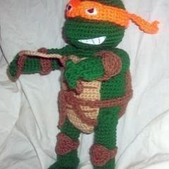 Teenage Mutant Ninja Turtles (TMNT)- Michaelangelo