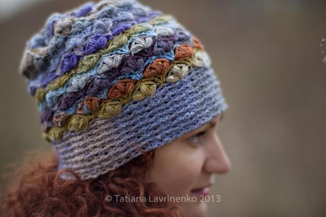 вязание, шапка