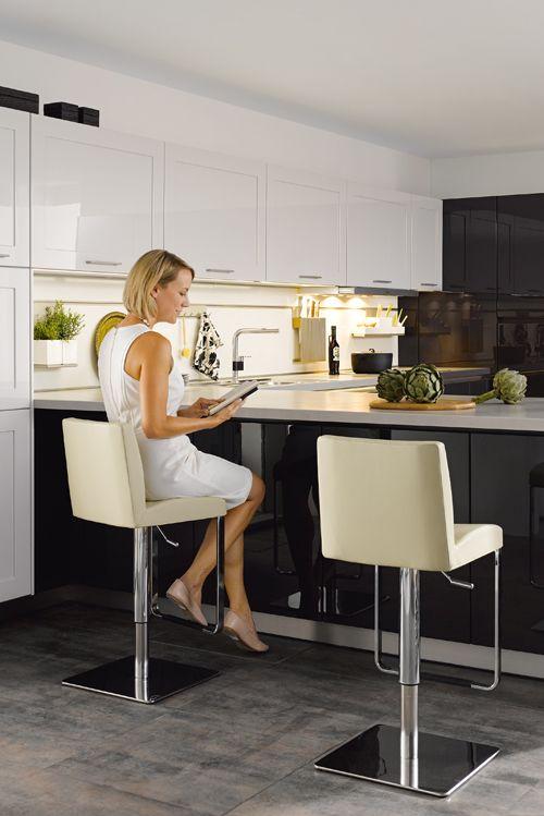die besten 25 offene k chen ideen auf pinterest gro e offene k chen gro e k cheninsel und. Black Bedroom Furniture Sets. Home Design Ideas