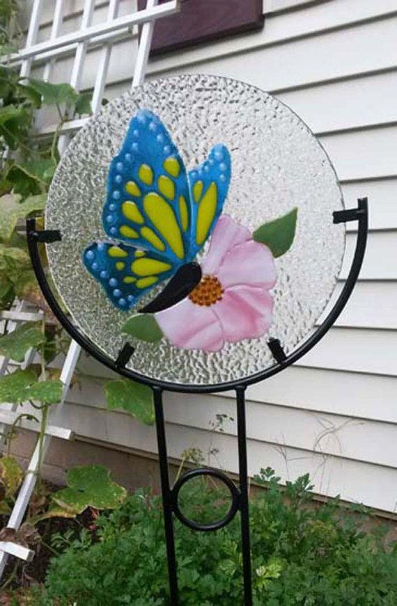 Fused Glass Garden Snails