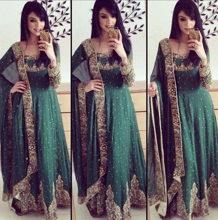 Green Indian dress