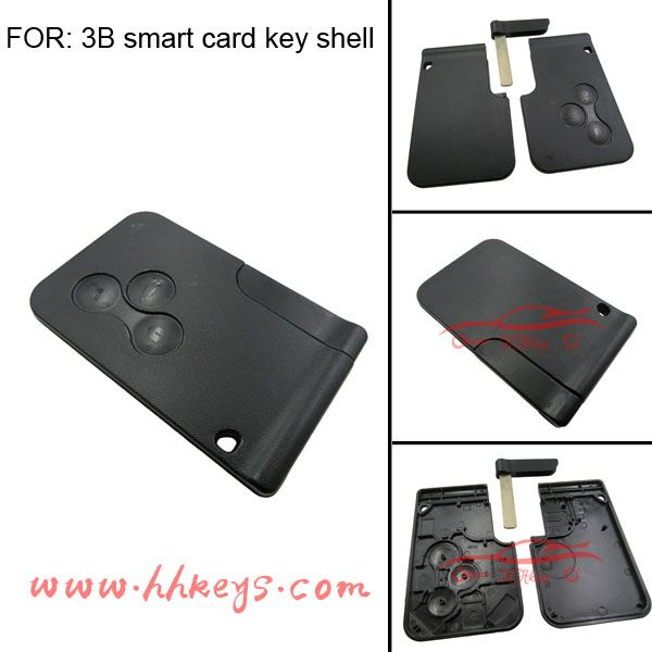 Check out this product on Alibaba.com APP Hot Key Smart For Sensor Renault laguna 3 Buttons Remote Smart Key card Renault laguna 2 and Blade Without chip
