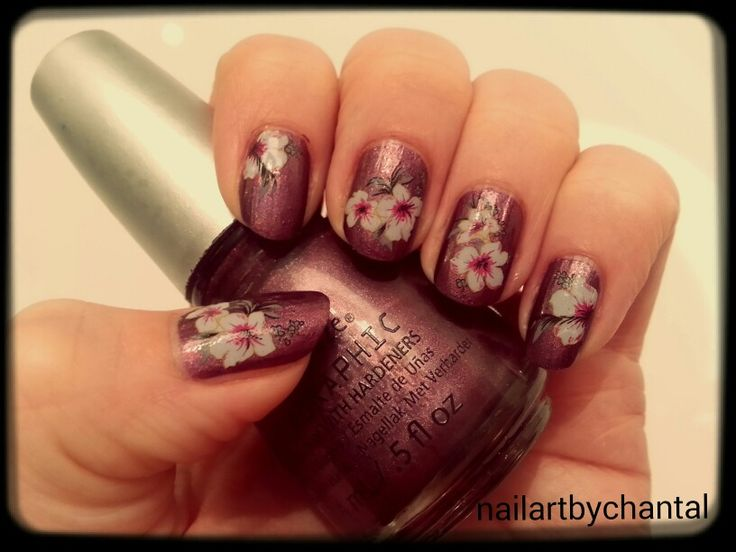 Nailart. Waterdecal