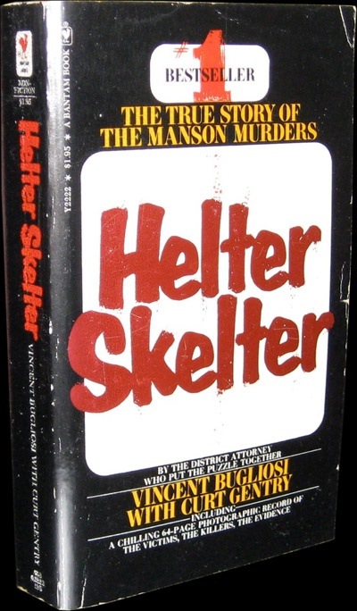 Helter Skelter The True Story Of Manson Murders Signed