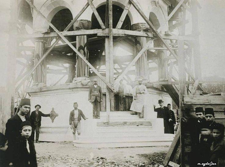 Alman çeşmesi yapımı 1900
