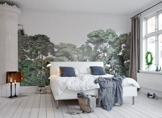 The Best and Most Beautiful Wallpaper Murals | Apartment Therapy