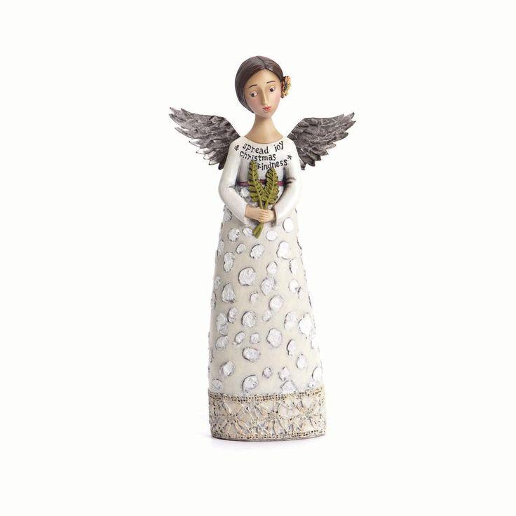 Kelly Rae Roberts Peace On Earth Christmas Kindness Angel Figure - NuMercy.com