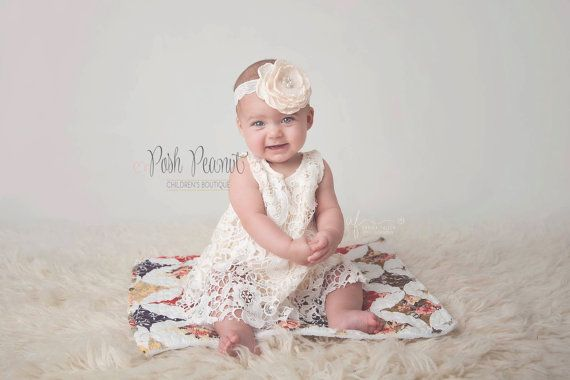 Lace baby outfit doop outfit doopsel outfit door PoshPeanutKids