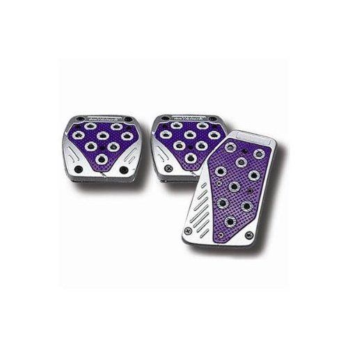 Ebc Brake Pads >> Matrix Gas, Brake, & Clutch Pedal Pads (Purple on Silver) Keystone http://www.amazon.com/dp ...