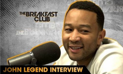 """American singer, songwriter, and musician John Legend made an appearance on """"The Breakfast Club"""" on Thursday morning for an in-depth conversation with Envy, Charlamagne and Angela Yee. During the i…"""