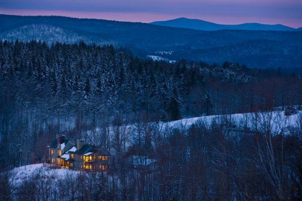 Twin Farms - All Inclusive Vermont Resort & Spa #honeymoon #romance #travel
