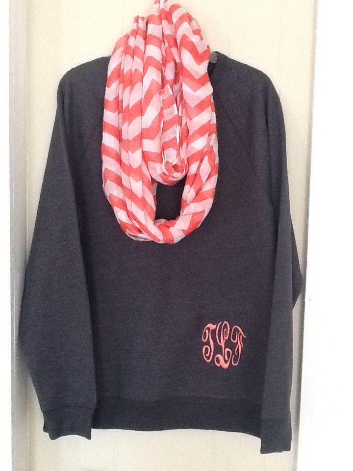 Best monogram sweatshirt ideas on pinterest