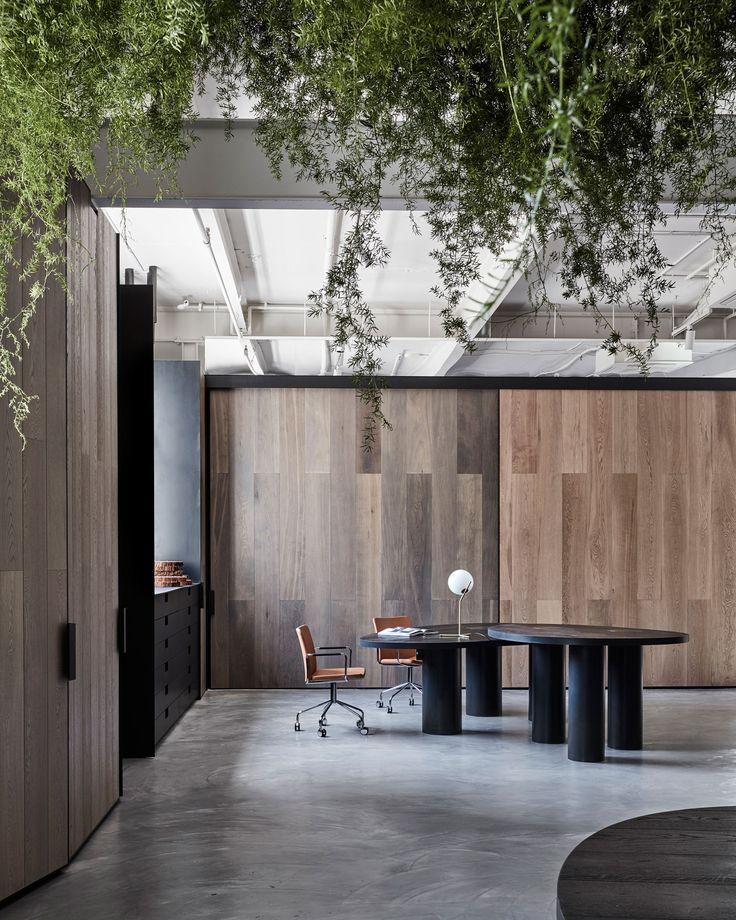 Woodcut Showroom In Sydneys Waterloo By Mim Design