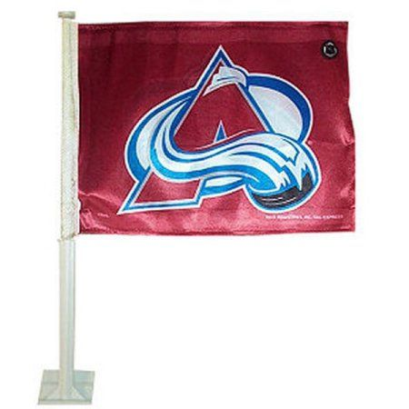 NHL - Colorado Avalanche Car Flag, Red