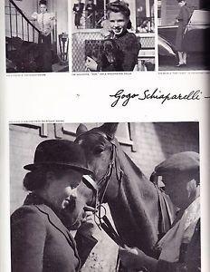 VOGUE July 15 1939 Eric Schiaparelli Gogo Helen Hayes Babe Paley Hats Shoes