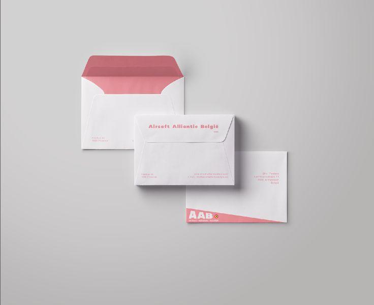 Ontwerp enveloppe 3 - gekozen ontwerp