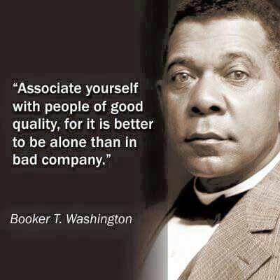 I'm not sure anyone should say this until they've really been alone. Sometimes bad company is better than no company at all.