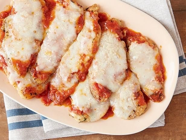 Giada's Easiest Chicken Parmesan  #RecipeOfTheDay