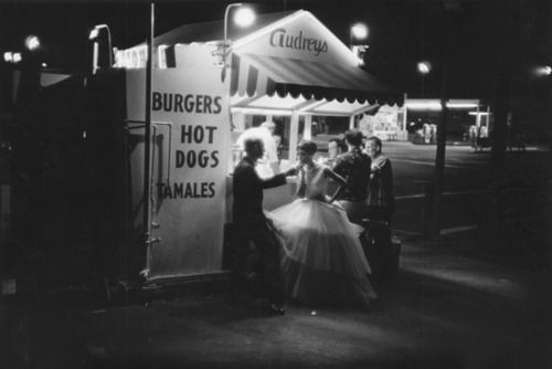 Hot Dog Stand, 3 AM, photo by William Claxton