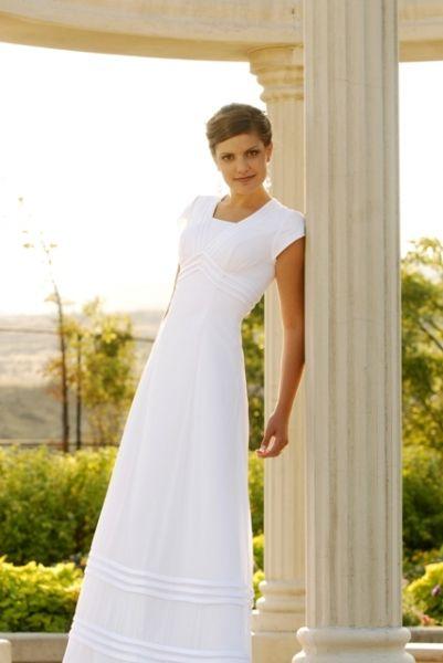 113 best images about Wedding: Modest Bridal Dresses on Pinterest ...