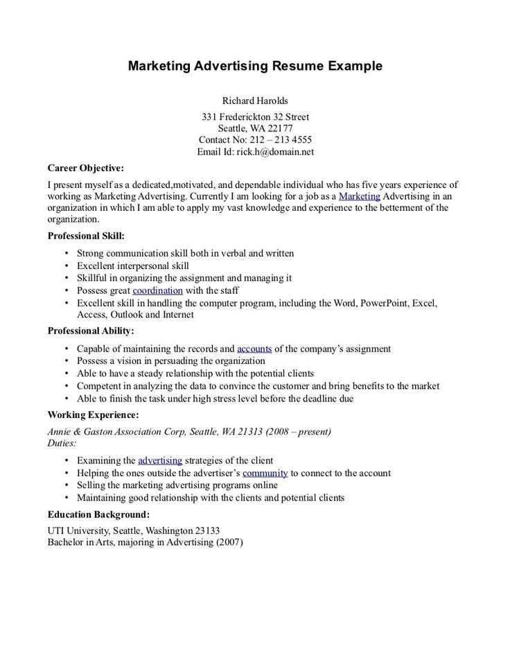 format for resume writing jobs example best group review valley - marketing advertising resume