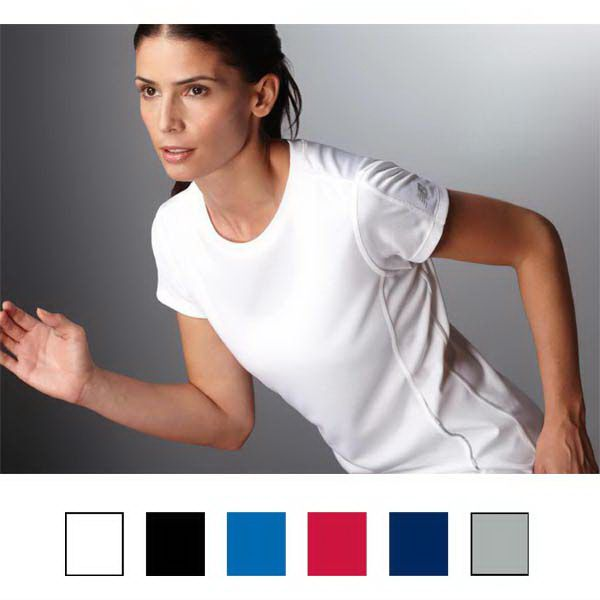 Tempo ladies performance tee pique mesh. Perfect for hitting the gym and for staying active!