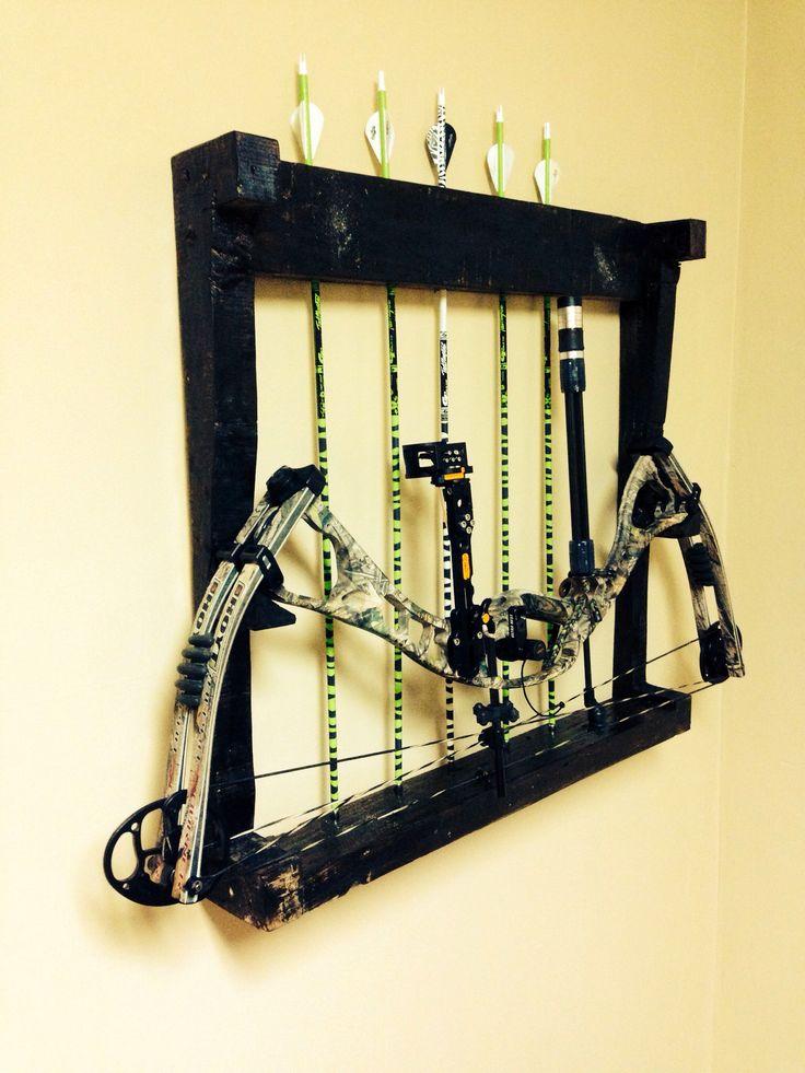 Pallet bow rack