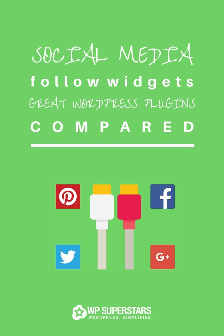 Social Media Follow Widgets: 5 Great WordPress Plugins Compared