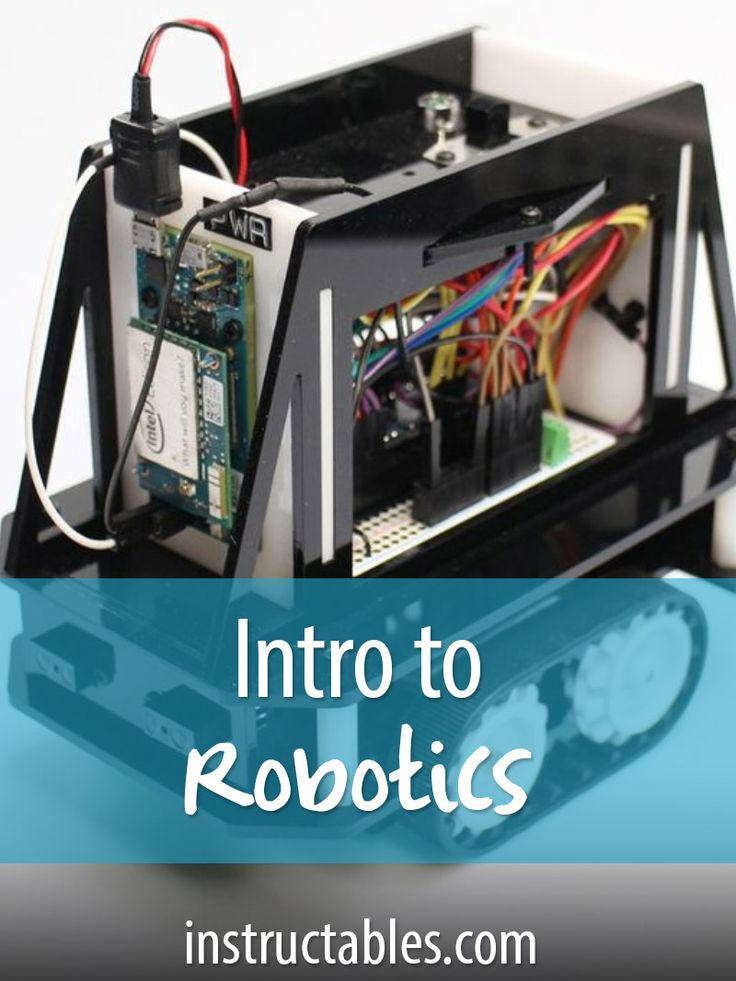Learn how to design and build a simple robot.