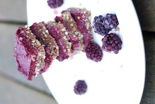 raw buckwheat berry bars