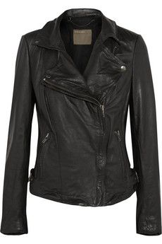Muubaa Leather biker jacket | THE OUTNET