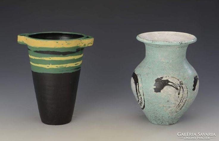 Gorka Lívia vázák
