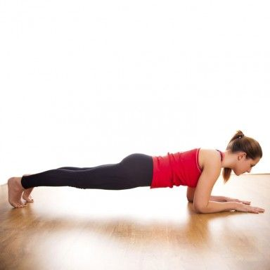 Abs Workout Video Featuring Plank Exercises #fitness #workout