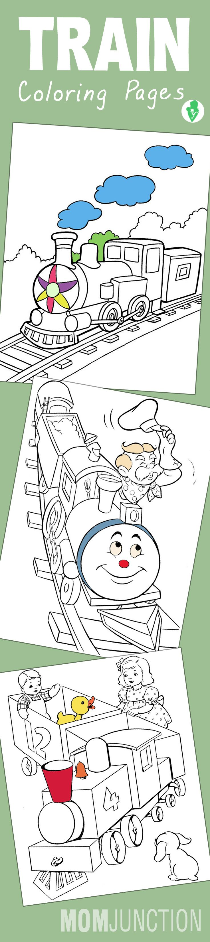 Train coloring pages for toddlers - 20 Best Train Coloring Pages Your Toddler Will Love To Color