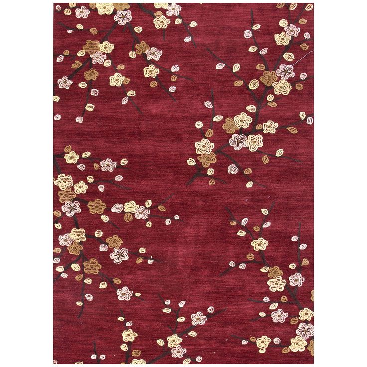 Cherry Blossom Area Rug Part - 24: Jaipur Brio Cherry Blossom Red BR17 Area Rug