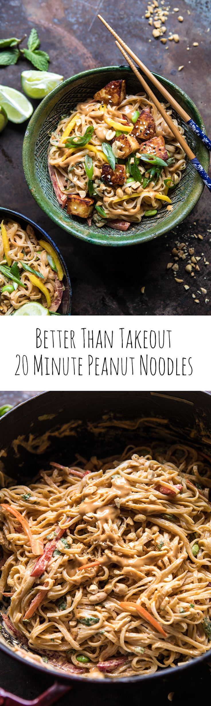 Better Than Takeout 20 Minute Peanut Noodles