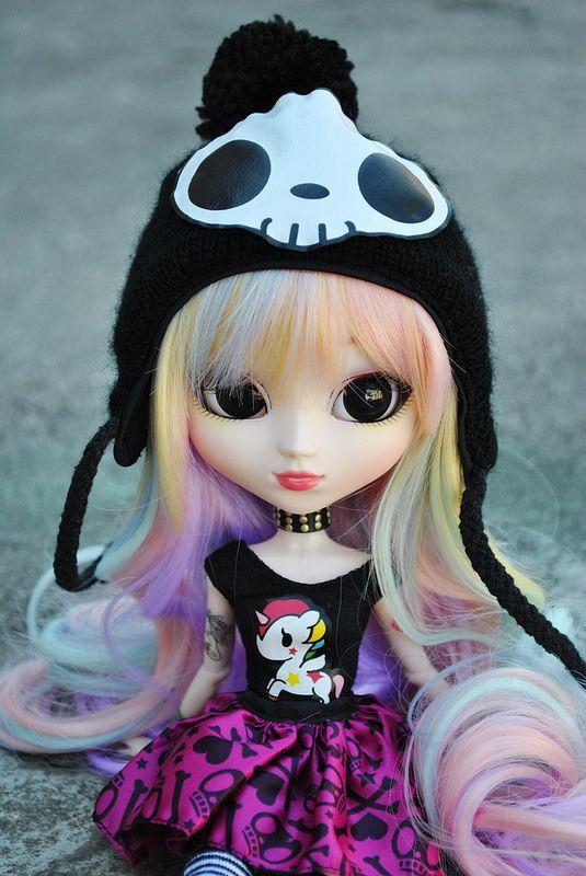 ткань легко картинки куклы пуллип токидоки симпатичных девушек, сделанные