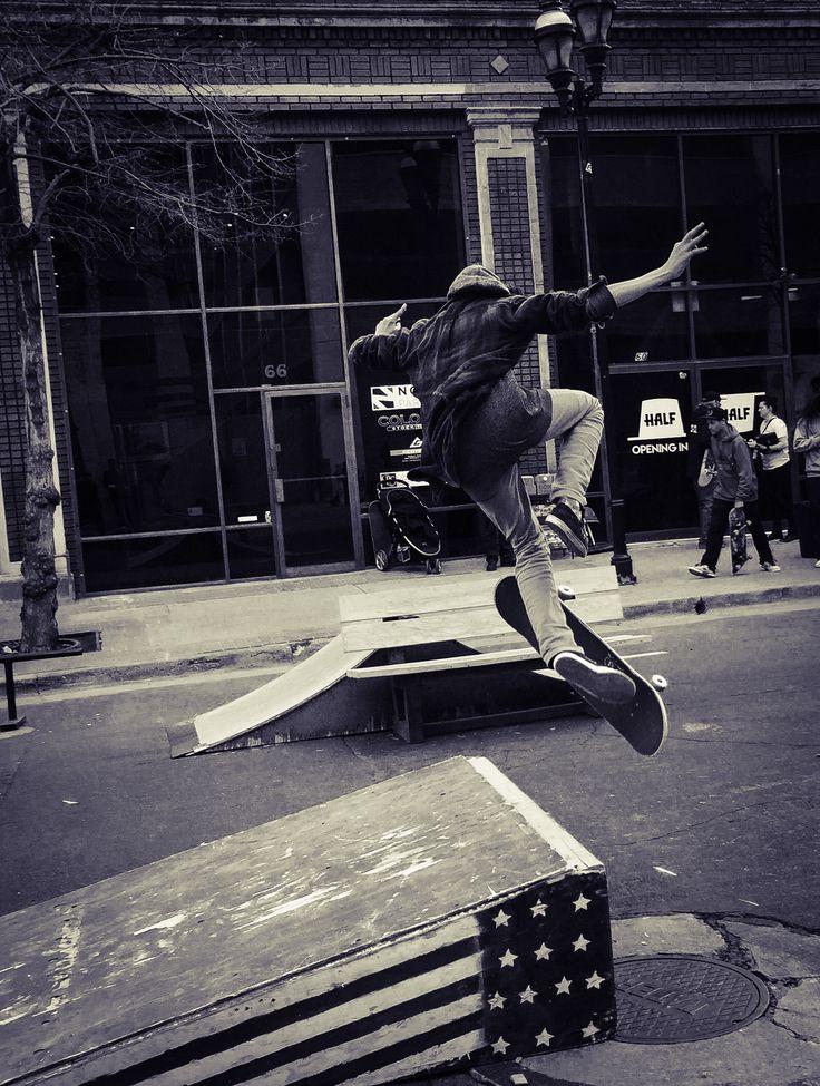 Skate boarding in saltlake #skateboarding #urbanlife #saltlake ity