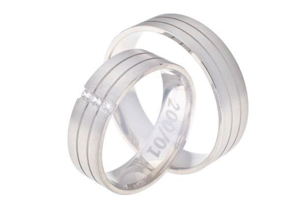 Snubní prsteny - model č. 200/02