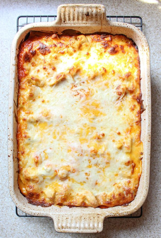 Buffalo Chicken Lasagna | 19 Lasagna Recipes That Will Change Your Life
