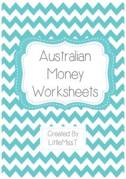 7 really great Australian Money worksheets. These would be really useful for kids in kindy-year 2