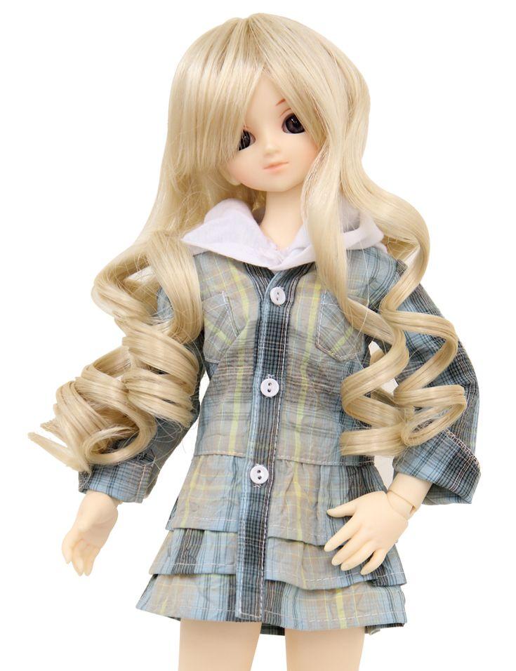 Wigs2dolls.com 人形・ドールウィッグ通販専門店 Doll Wig Online Store WD40-010  SD40cm用ウィッグ★まるで天使のような可愛いスタイルの登場!ロング巻き髪ウィッグです♪ #Blythe #BJD #SD #SuperDofflie #Wig #Cosplay #Halloween #Fashion #Wedding #Hair #ヘア #ブライス
