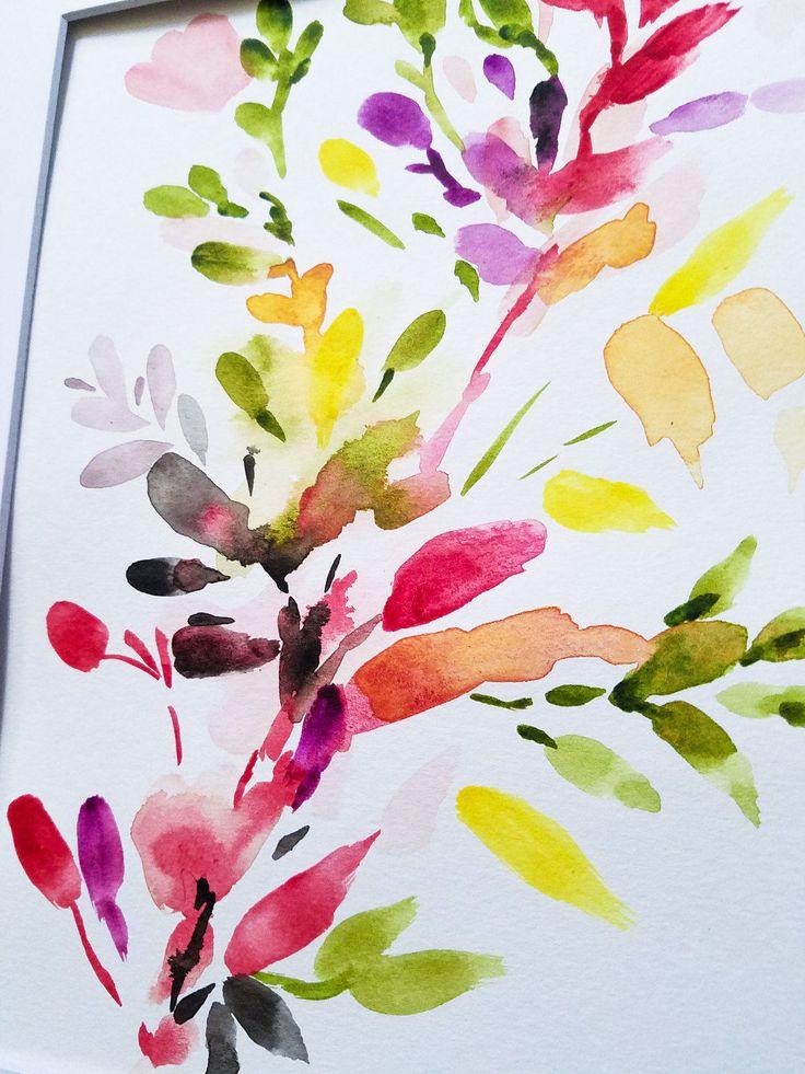 17 meilleures id es propos de aquarelle abstraite sur pinterest uvres d 39 art l 39 encre l - Tuto peinture abstraite contemporaine ...