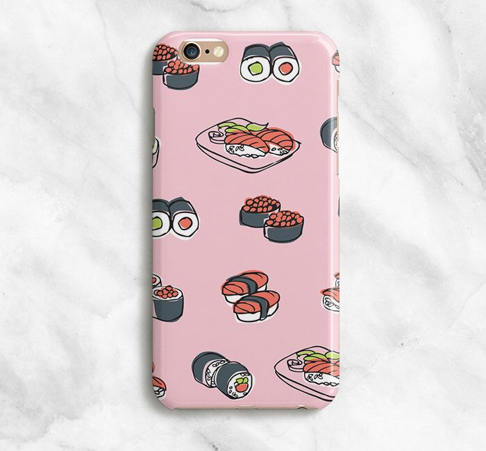Sushi iPhone 6s Case Food iPhone Case Cute iPhone 6s Plus Case iPhone 5s Case iPhone SE Case iPhone 5c Case Galaxy S7 S6 S5 Case Edge 092 by LovelyCaseCo on Etsy https://www.etsy.com/listing/256547570/sushi-iphone-6s-case-food-iphone-case