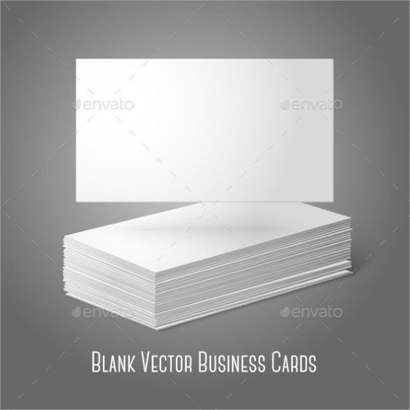 Business Card Blank Template 44 Free Blank Business Card Templates Ai Word Psd Business Card Template Psd Blank Business Cards Vector Business Card