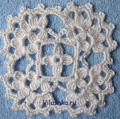 Crochet squares and circles | Free patterns