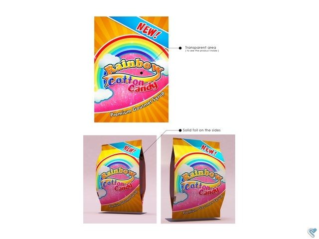 Rainbow Cotton Candy New Packaging Logo Design Rainbow Cotton Candy New Packaginglogo Design Te Business Cards Photography Contest Design Unique Business Cards